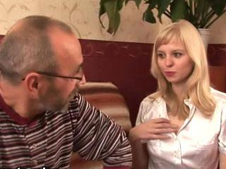 Innocent teen beauty screwed hard by her horny teacher