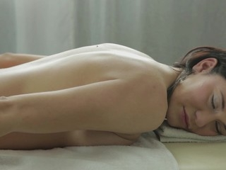 After having pestered her for two weeks straight, Gerta lastly assented to a massage movie scene. And what do u know, that babe even turned it into her first anal scene ever. Women, I'll at no time understand them…