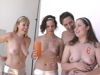 Super hawt chicks talking jointly previous to a hawt porn scene !