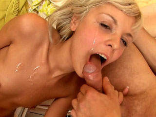 Gorgeous youth getting fucked hard with an increment of taking cumshot