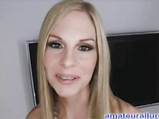 Aimee is a gorgeous golden-haired professional model that was recently featured in Penthouse magazine. This is her very first hardcore scene ever captured on camera. Aimee is 5 ft 8, has large 34C pantoons and a very miniature waist with legs that stretch
