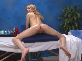 Gorgeous cute teen want indestructible sex after hot massage