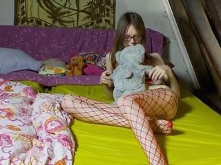 Youthful beauty is getting a sensual massage from girlfriend