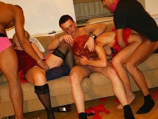 Is there any more good way to celebrate X-mas than to throw a nifty sex party with the hottest college sluts?