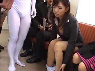 Lovely youthful asian gets on her knees connected with suck a thick locate