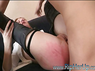 One very ardent beauty gets her holes fingered and fucked